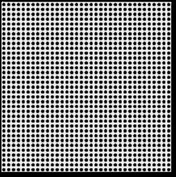 Multi-level screening - clean grid